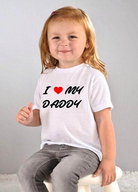 i heart daddy shirt