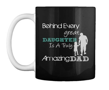 Great Daughter, Amazing Dad mug
