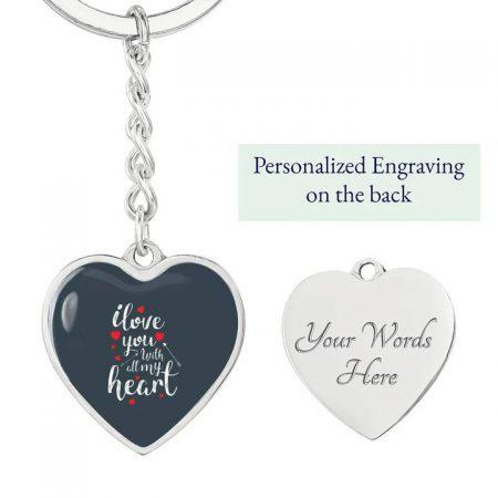 custom keychain for boyfriend
