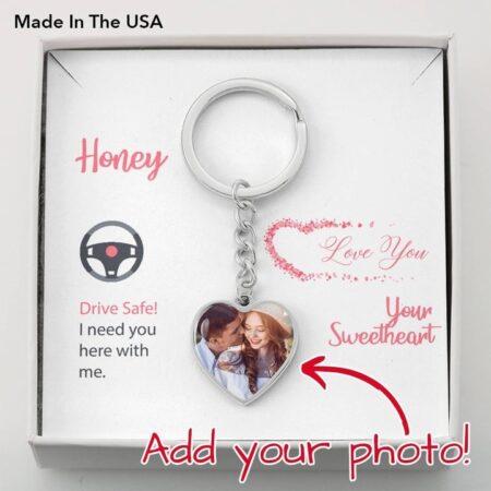 picture keychain for boyfriend